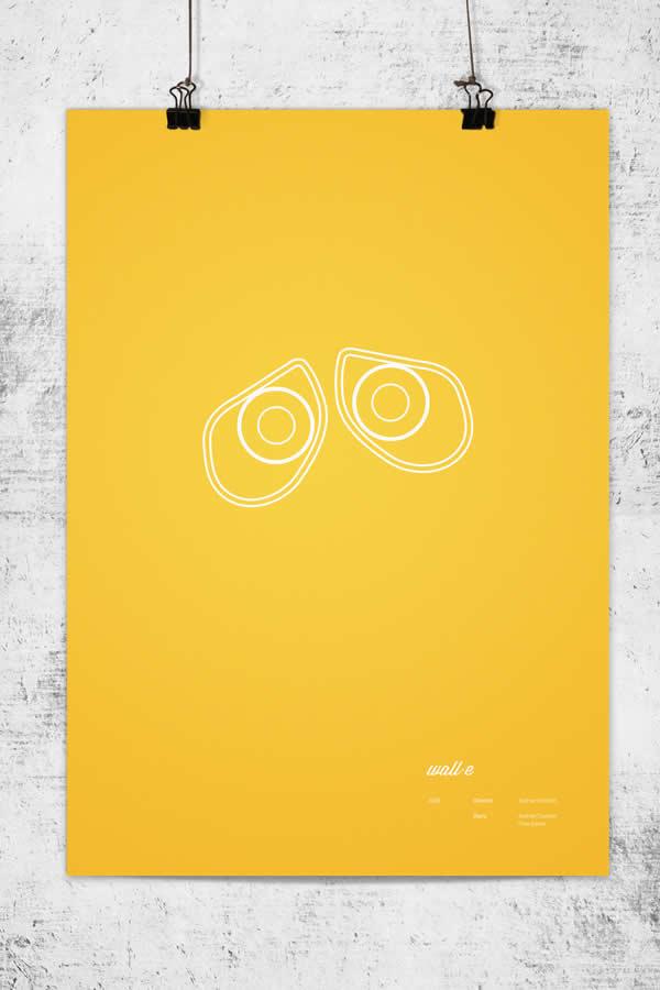 Posters minimalistes Pixar 3