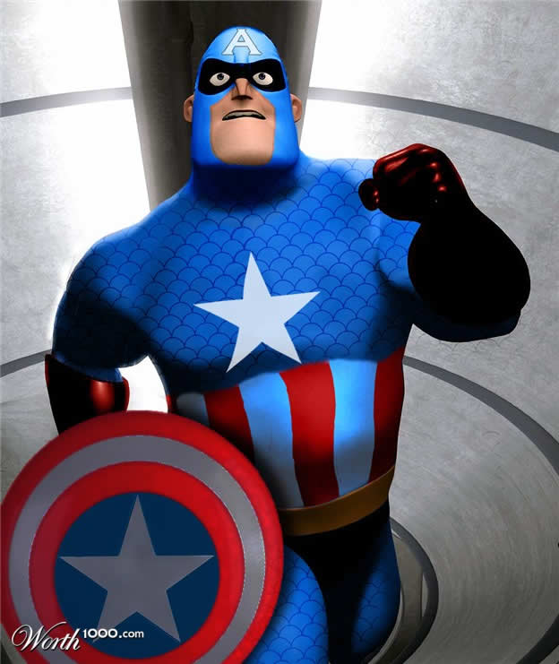 Marvel VS Disney, les 20 meilleurs montages hybrides 12