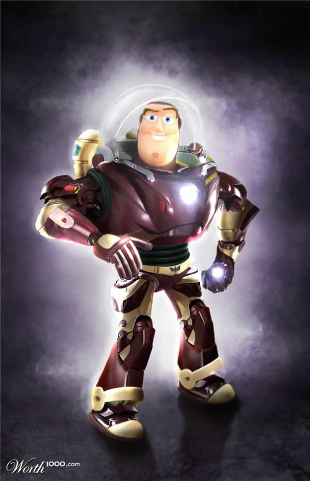 Marvel VS Disney, les 20 meilleurs montages hybrides 13