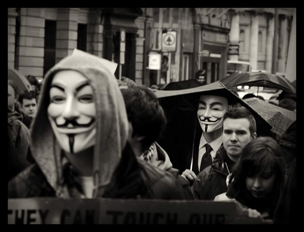 30 superbes photos de manifestations contre ACTA 13