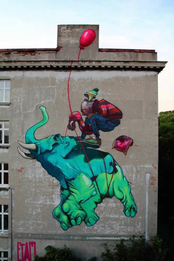 11 streetart design 8 62 street art fun et créatifs – vol 8