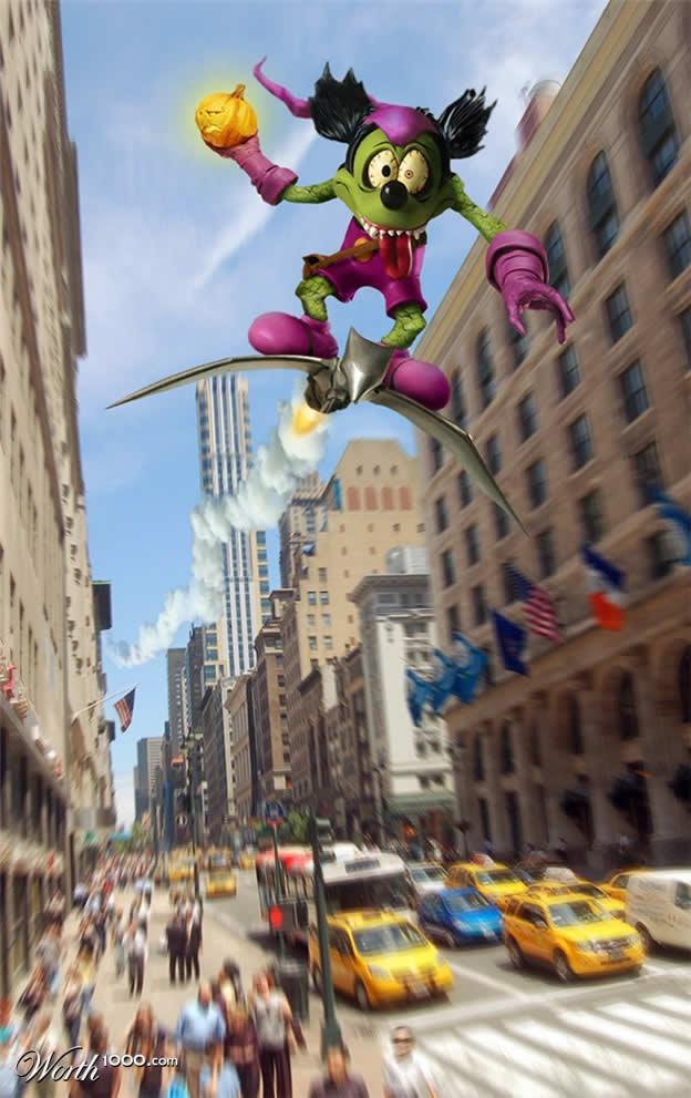 Marvel VS Disney, les 20 meilleurs montages hybrides 16