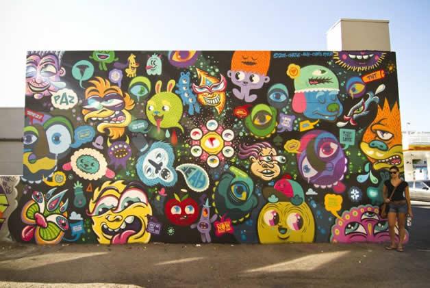 16 streetart design 8 62 street art fun et créatifs – vol 8