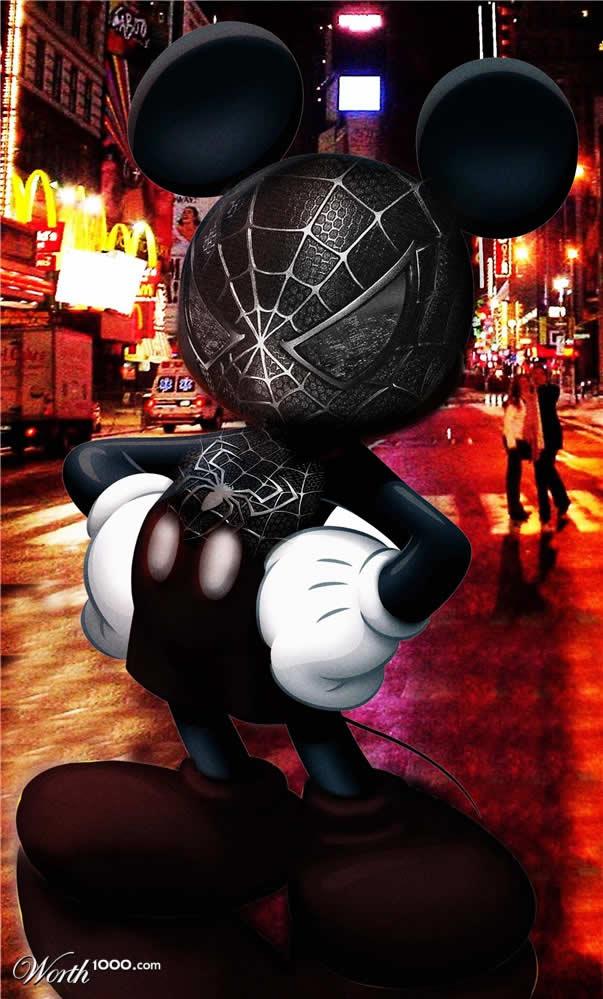 Marvel VS Disney, les 20 meilleurs montages hybrides 19