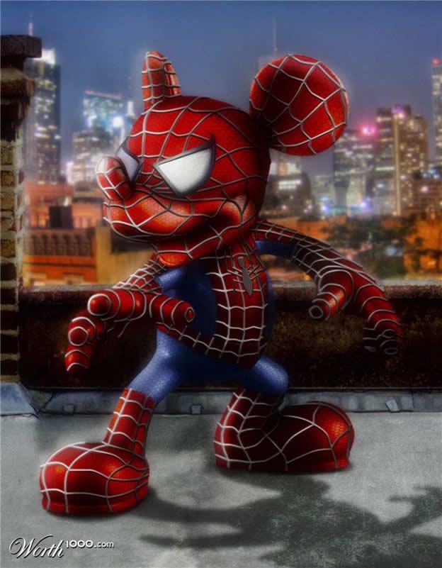 Marvel VS Disney, les 20 meilleurs montages hybrides 20