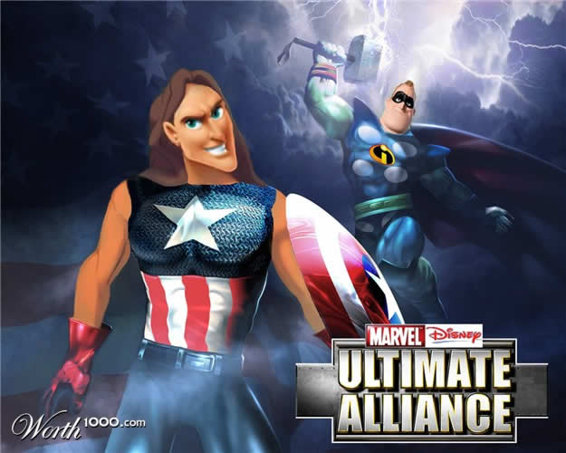 Marvel VS Disney, les 20 meilleurs montages hybrides 21