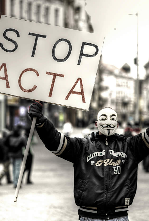 30 superbes photos de manifestations contre ACTA 21