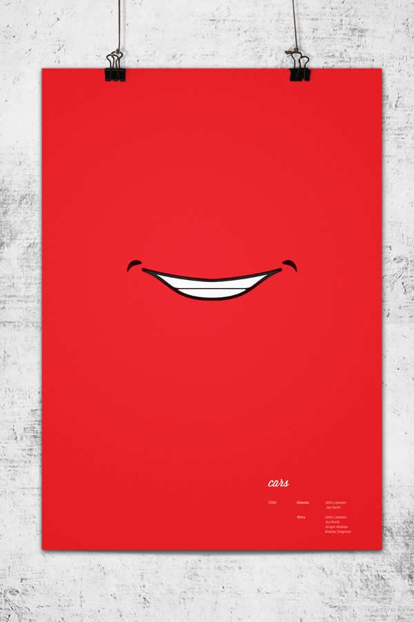 Posters minimalistes Pixar 4