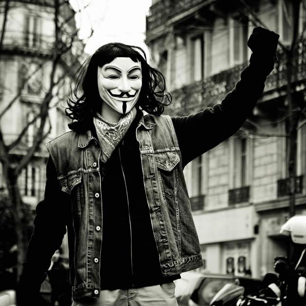 30 superbes photos de manifestations contre ACTA 26