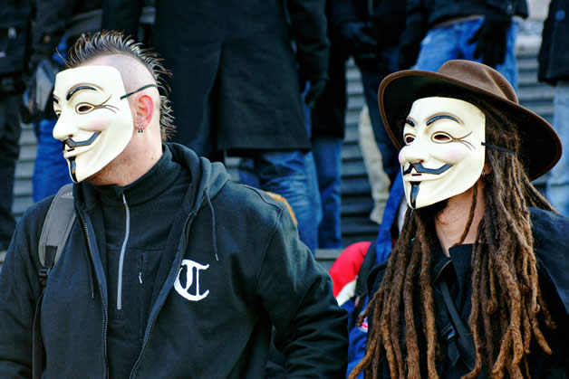30 superbes photos de manifestations contre ACTA 30