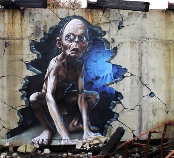 62 street-art fun et créatifs – vol 8 46