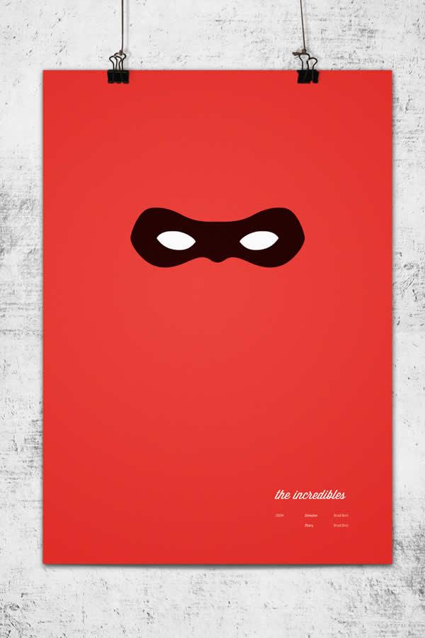 Posters minimalistes Pixar 7