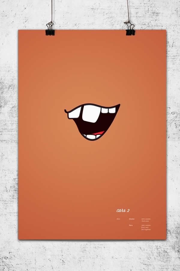 Posters minimalistes Pixar 9