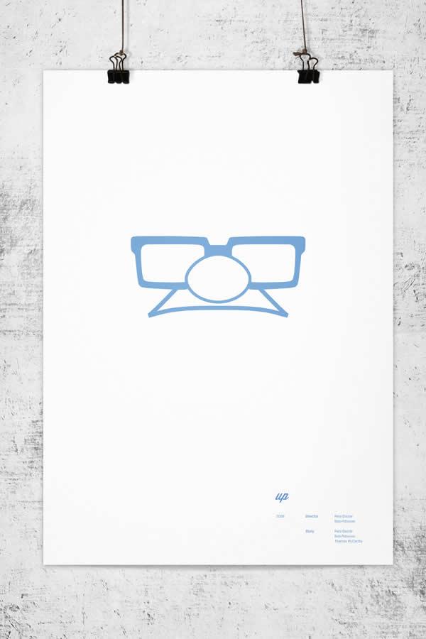 Posters minimalistes Pixar 11