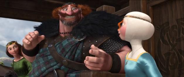 Nouvelle superbe bande annonce pour BRAVE de Pixar 2