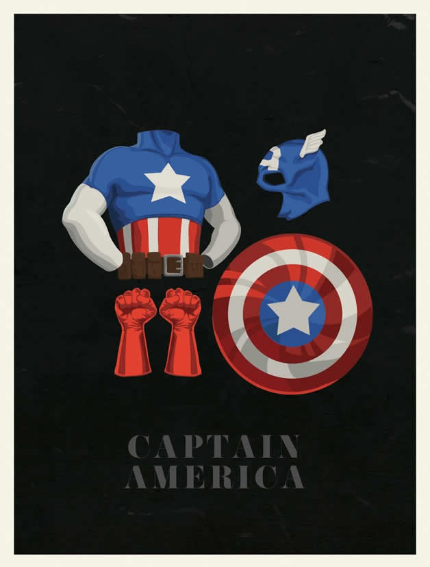 Les costumes des super-héros 2
