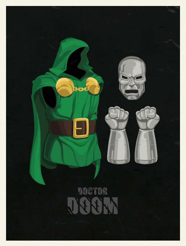 Les costumes des super-héros 3