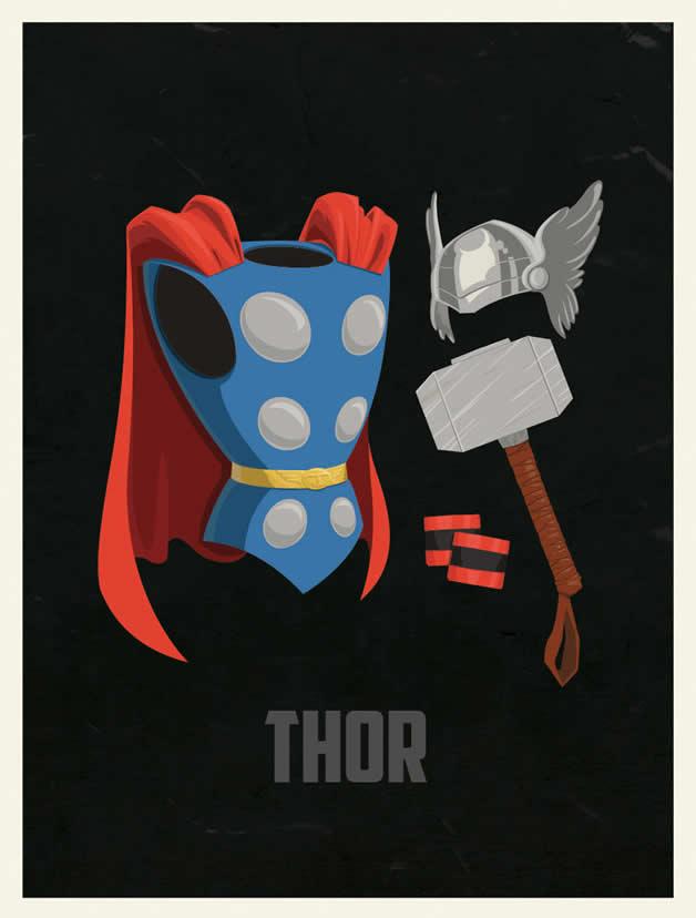 Les costumes des super-héros 6