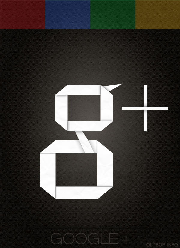 Affiches des réseaux sociaux en Origami 3