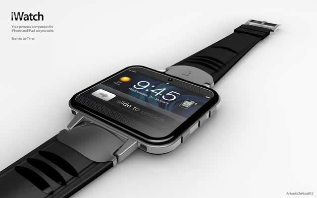 Concept de montre Apple - iWatch 2 12
