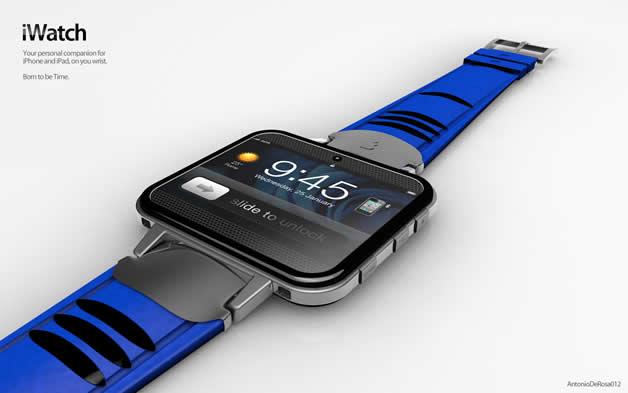 Concept de montre Apple - iWatch 2 13