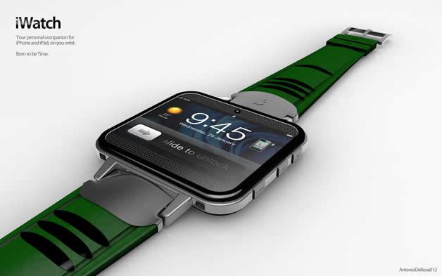 Concept de montre Apple - iWatch 2 14