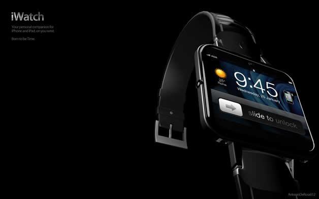 Concept de montre Apple - iWatch 2 3