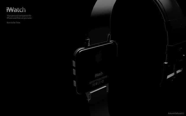 Concept de montre Apple - iWatch 2 4