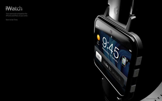 Concept de montre Apple - iWatch 2 6