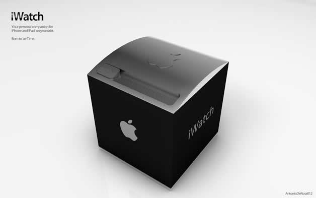 Concept de montre Apple - iWatch 2 7