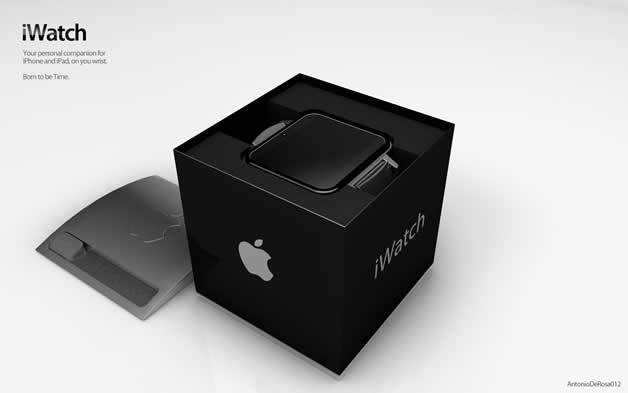Concept de montre Apple - iWatch 2 8