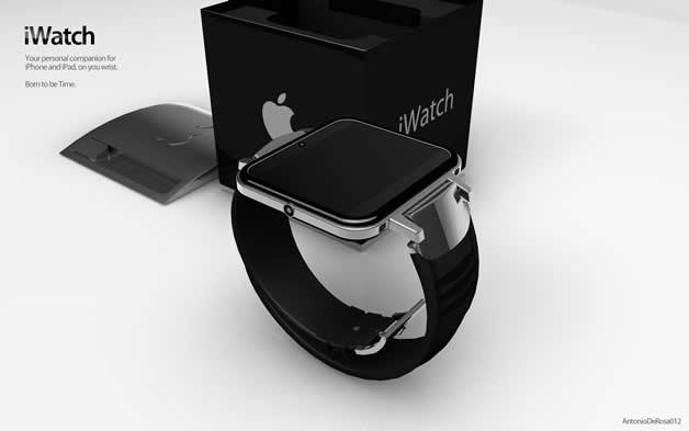 Concept de montre Apple - iWatch 2 9