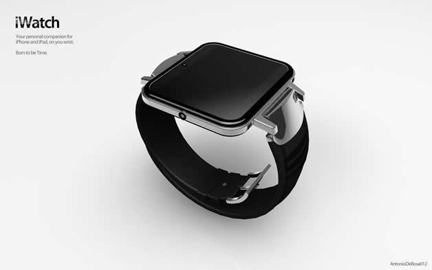 Concept de montre Apple - iWatch 2 10