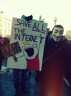 25 panneaux de protestations fun contre ACTA 4