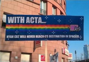 25 panneaux de protestations fun contre ACTA 12