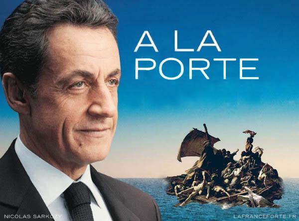 10 meilleures Parodies de l'affiche de Sarkozy : La France Forte ! 12
