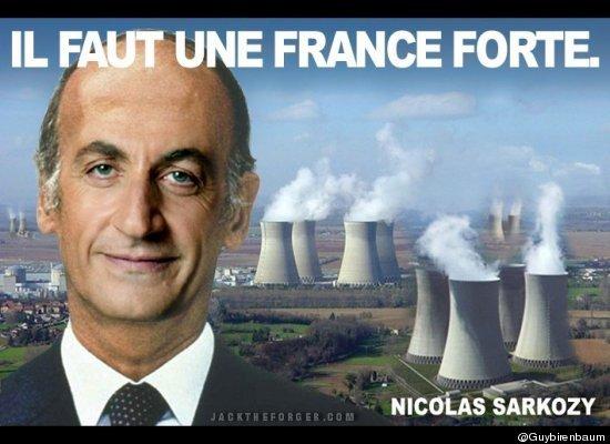 10 meilleures Parodies de l'affiche de Sarkozy : La France Forte ! 3