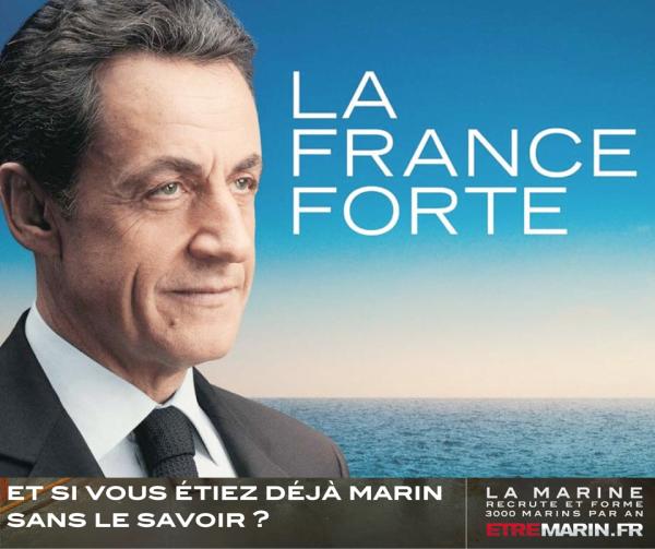 10 meilleures Parodies de l'affiche de Sarkozy : La France Forte ! 11