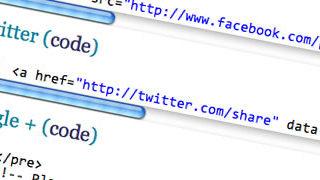 Comment intégrer les boutons de partages de réseaux sociaux sans plugin