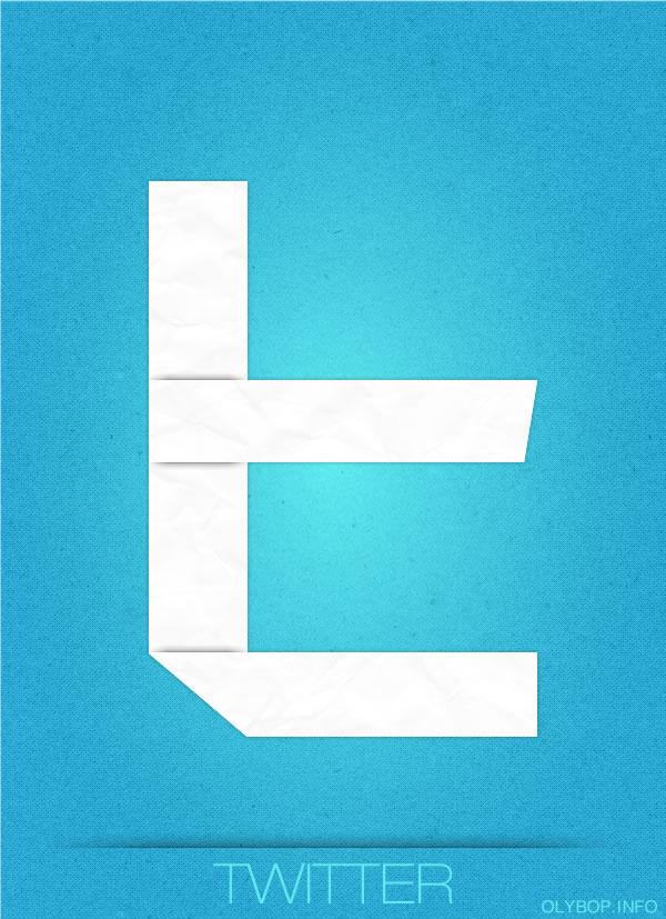 Affiches des réseaux sociaux en Origami 7