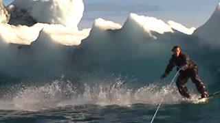 Faire du Wakeboard en Alaska 1