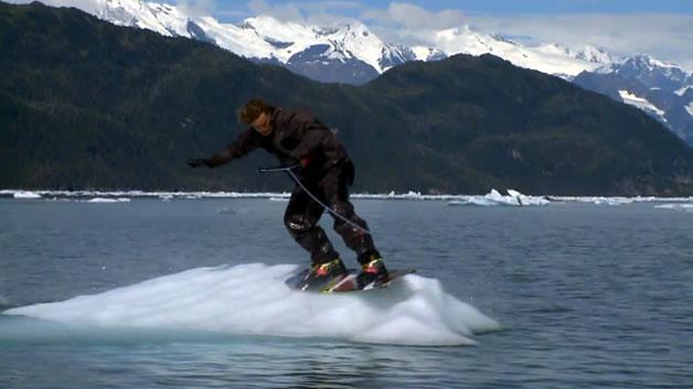 Faire du Wakeboard en Alaska 2