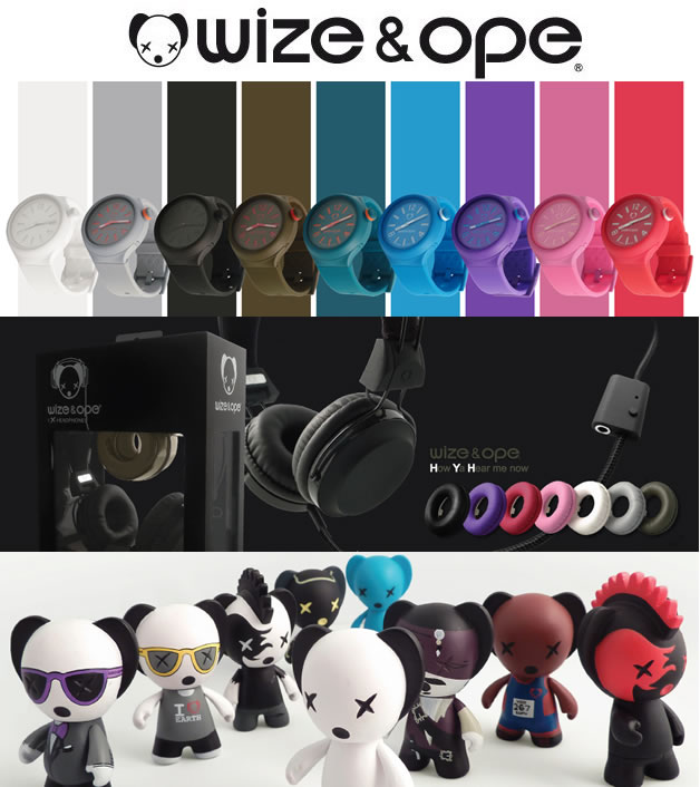 [concours 3ans @olybop] 3 Toys, 2 montres et 1 casque Wize & Ope à gagner ! 3