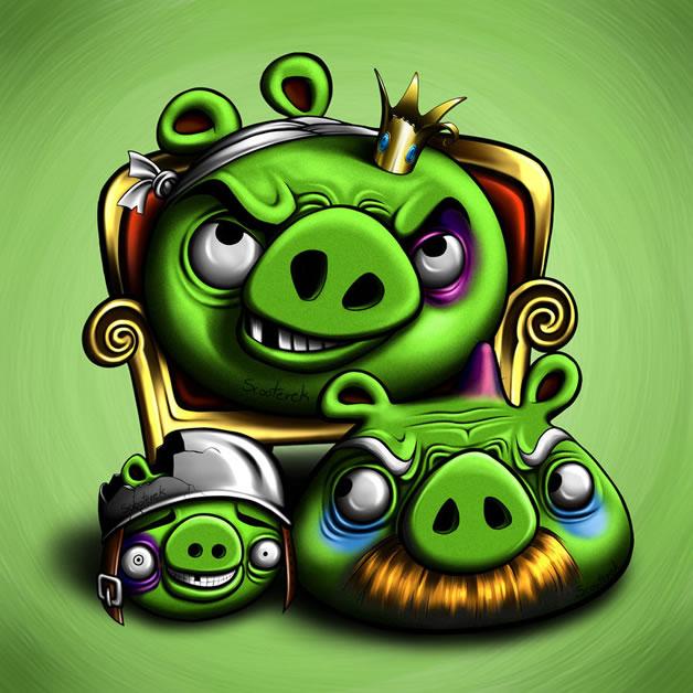 Les FanArt Angry Birds de Sylwia W 2