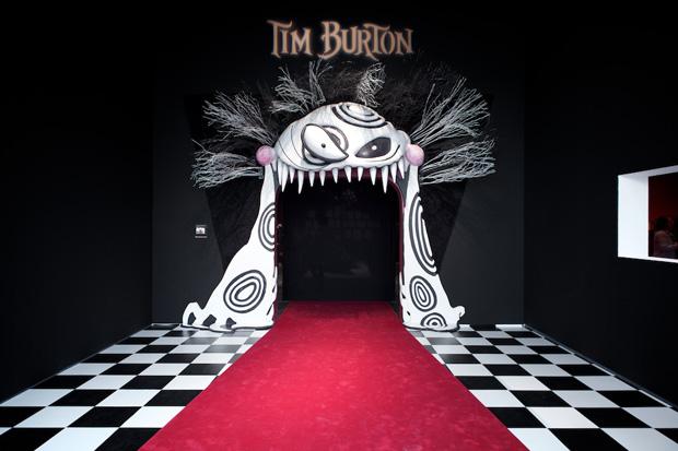 Exposition Tim Burton à la cinémathèque de Paris 2