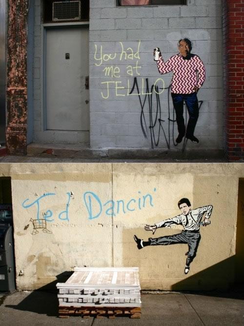 01 streetart creatif design vol9 50 street art fun et créatifs – vol 9
