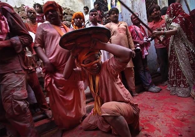 Holi Festival en Inde par Kevin Frayer 5