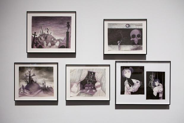 Exposition Tim Burton à la cinémathèque de Paris 5