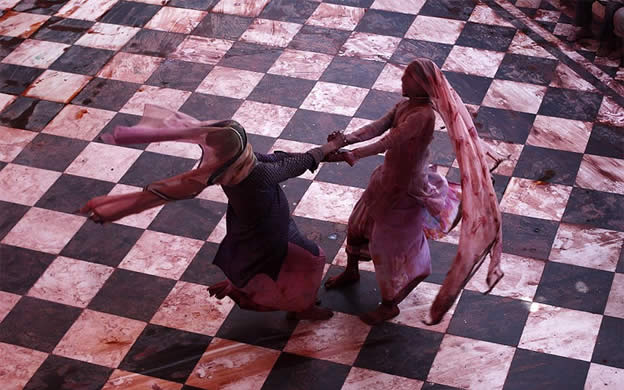 Holi Festival en Inde par Kevin Frayer 6