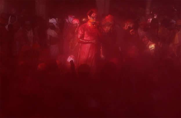 Holi Festival en Inde par Kevin Frayer 9